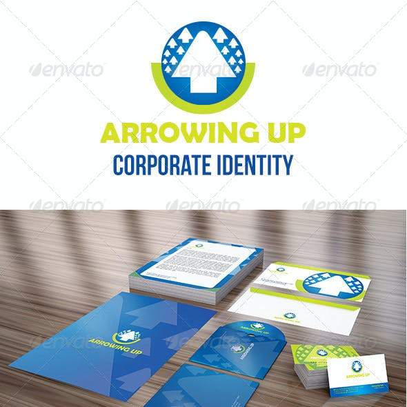 Arrowing Up Corporate Identity Package
