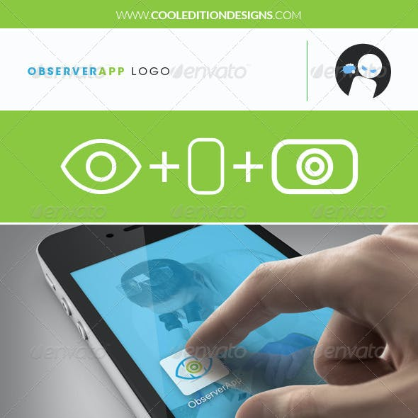 Observer App - Logo Template