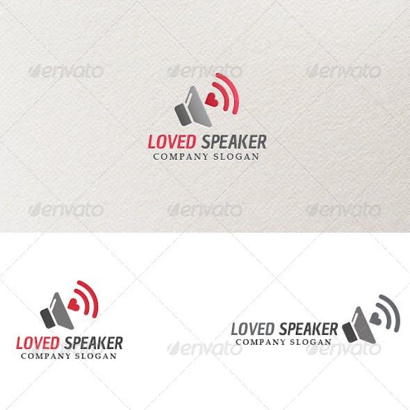 Loved Speaker - Logo Template