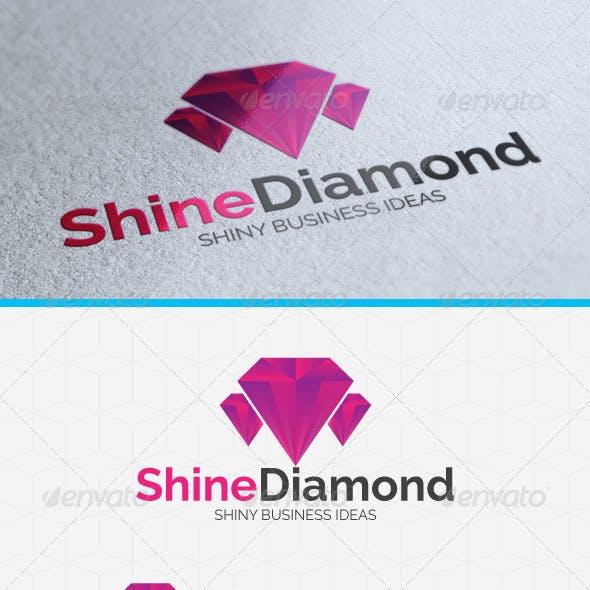 Shining Diamond Logo Template