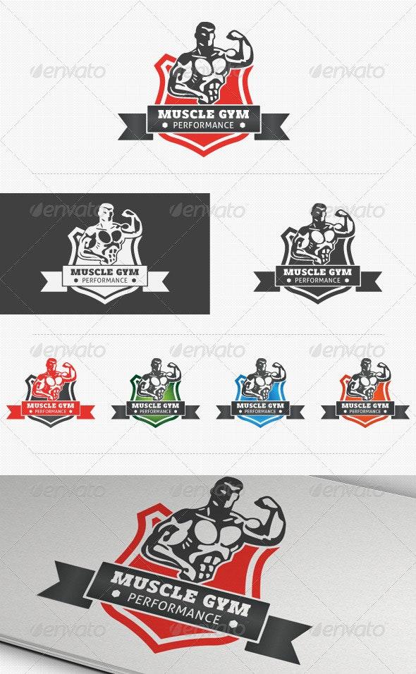 Fitness Performance Gym Logo - Humans Logo Templates