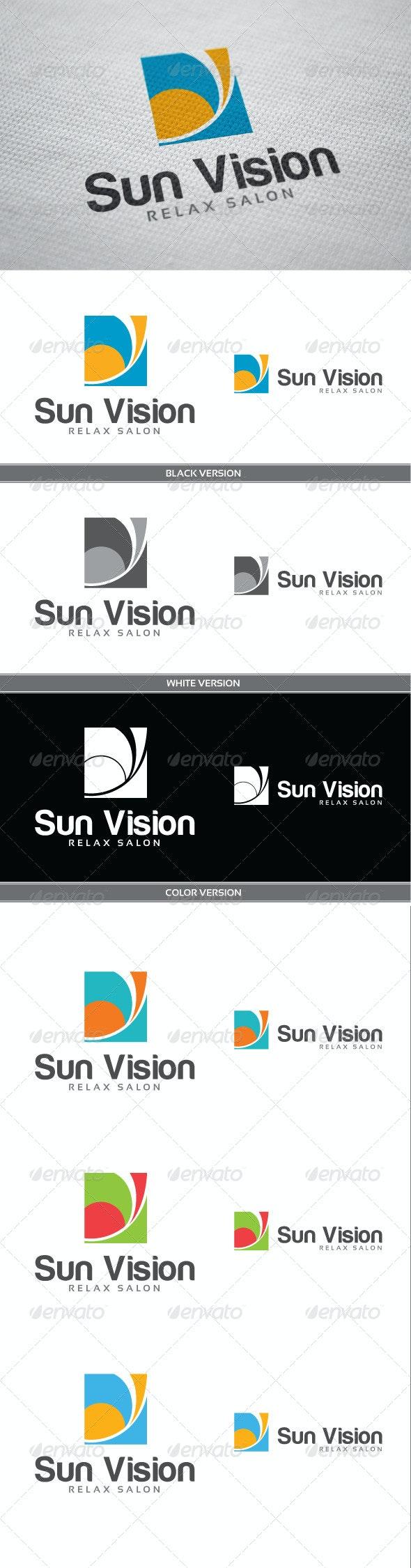 Sun Vision - Vector Abstract