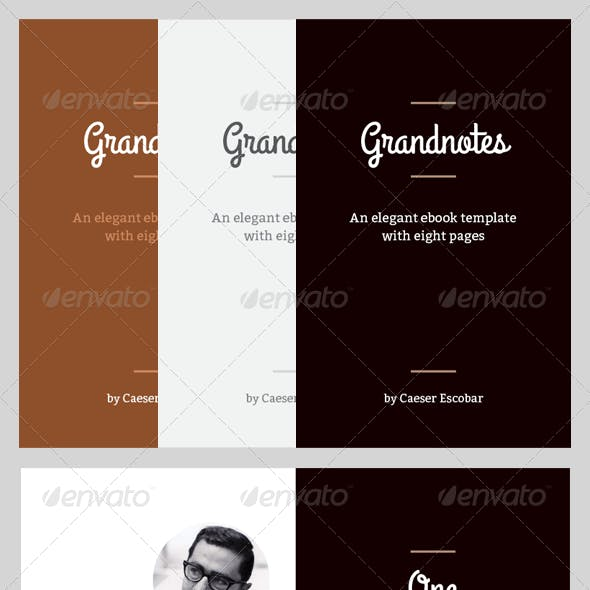 Grandnotes - eBook Template or Print Book