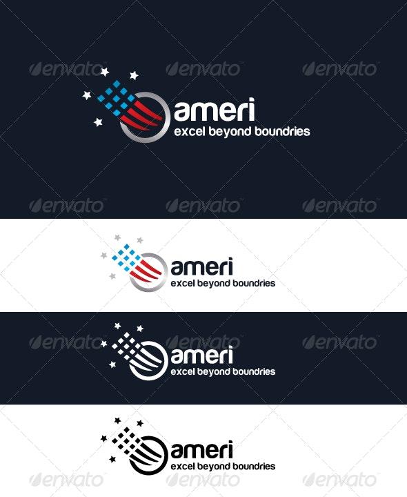 Ameri Logo - Vector Abstract