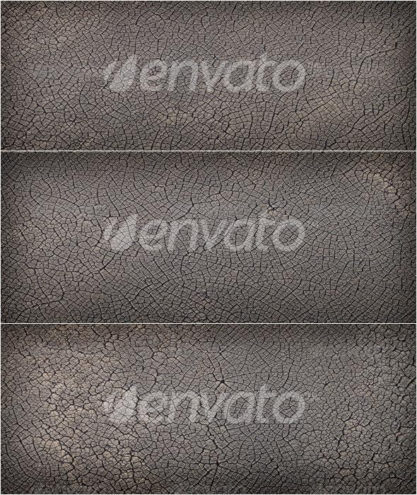 3 Cracked Dirt Textures - Nature Textures