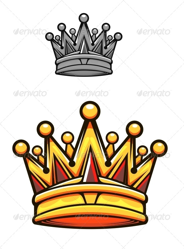 Vintage royal crown - Decorative Symbols Decorative