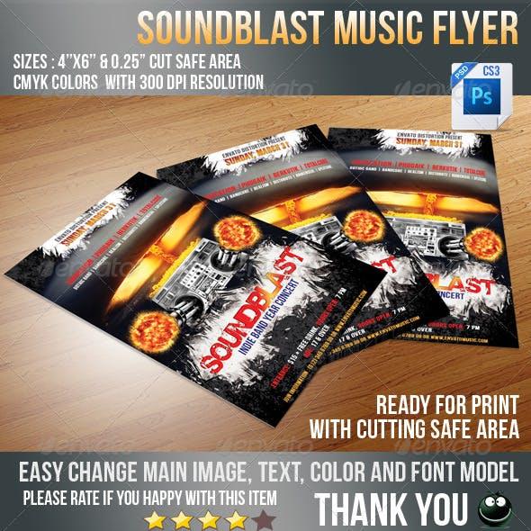 Sound Blaster Flyer