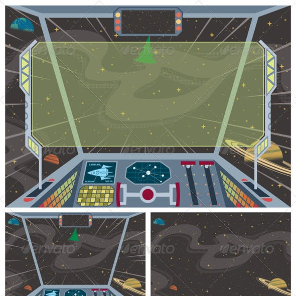Spaceship Backgrounds