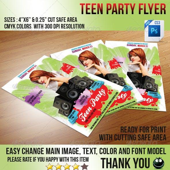 Teen Love Flyer