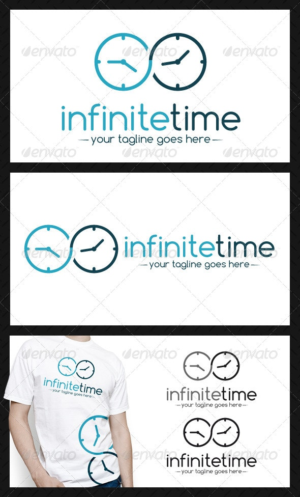 Infinite Time Logo Template - Symbols Logo Templates