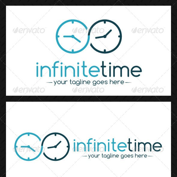 Infinite Time Logo Template