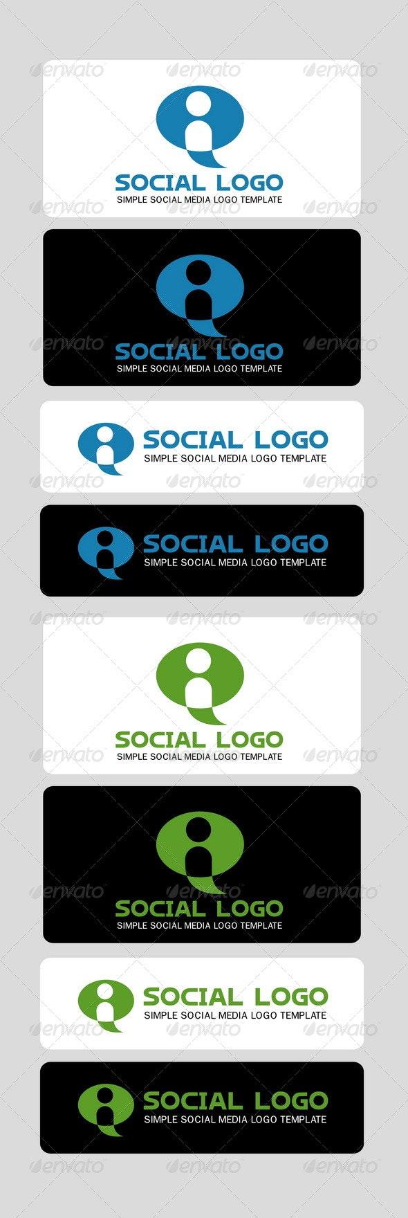 Social Logo Template - Humans Logo Templates