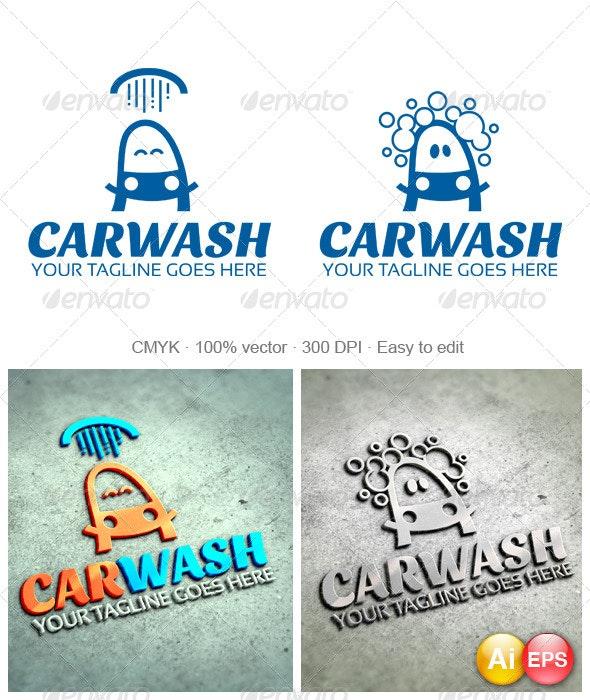 Carwash Logo - Objects Logo Templates