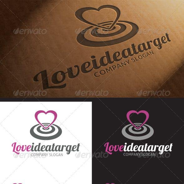 Love Target Idea Logo