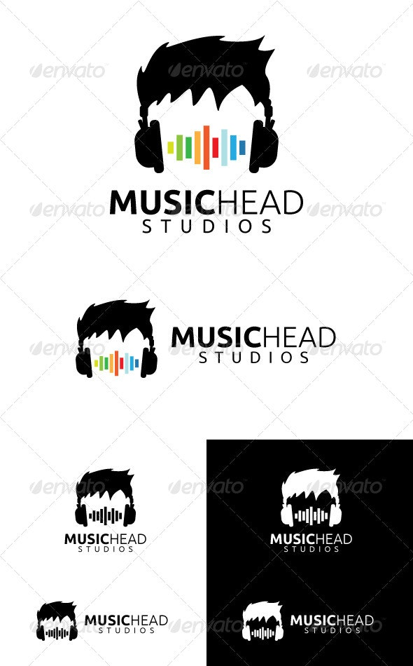 Music Head Studios - Symbols Logo Templates