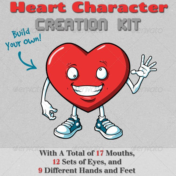Heart Character Creation Kit