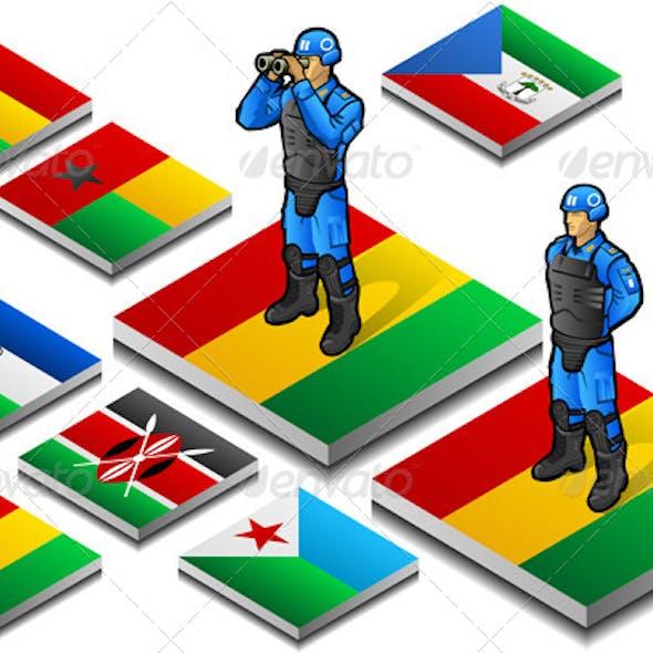 Isometric International Peacekeeper Observer
