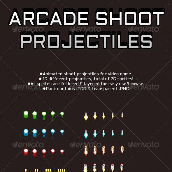 Arcade Shoot Projectiles