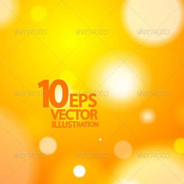 Abstract Vector Blurred Light Background