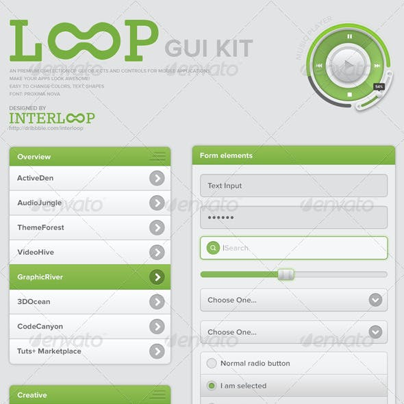 Loop GUI Kit