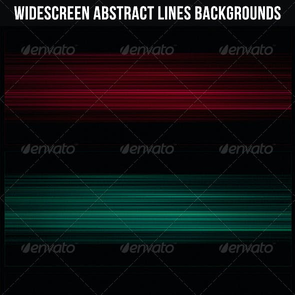 Widescreen Abstract Lines Backgrounds