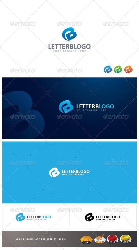 B Letter Logo - Letters Logo Templates