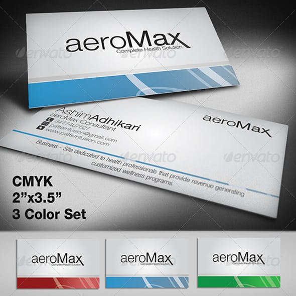 AeroMax Business Cards