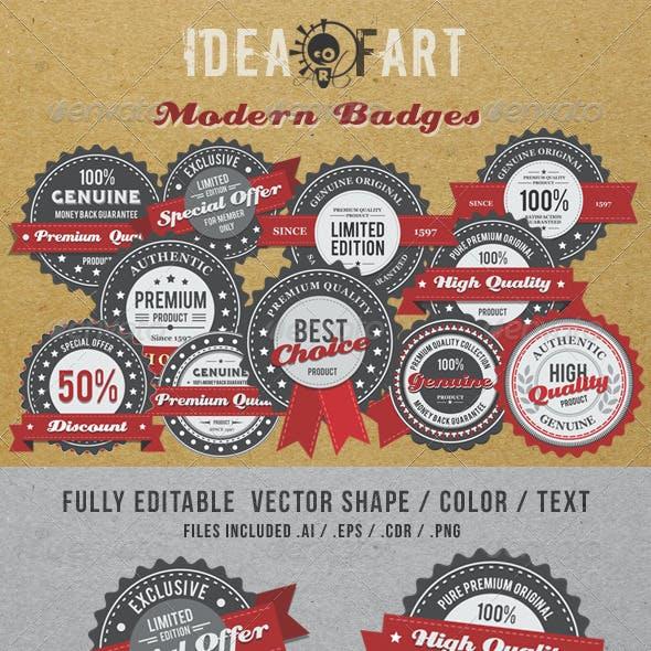 Modern Badge
