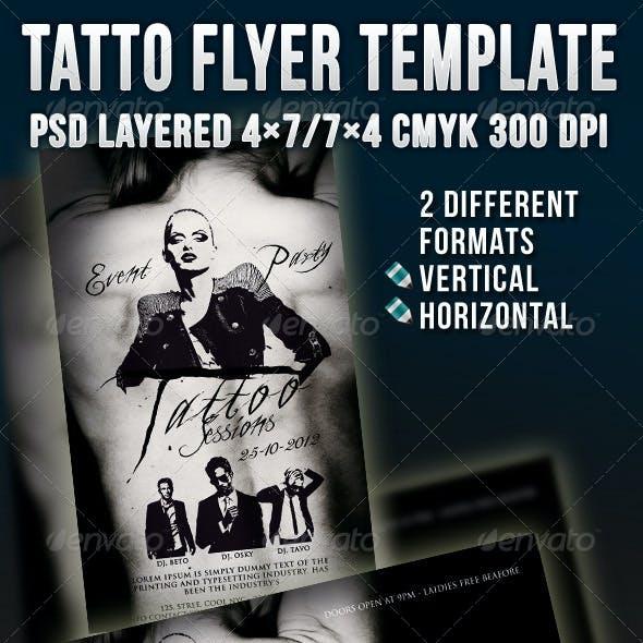 Tatto Flyer Template