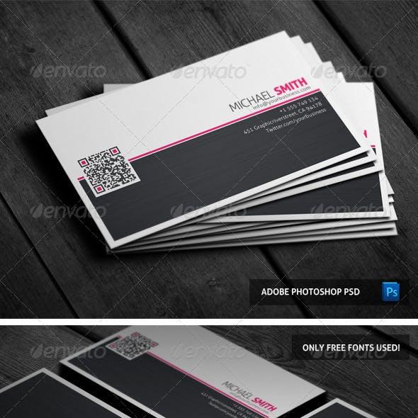 Stylish Subtle Business card 04