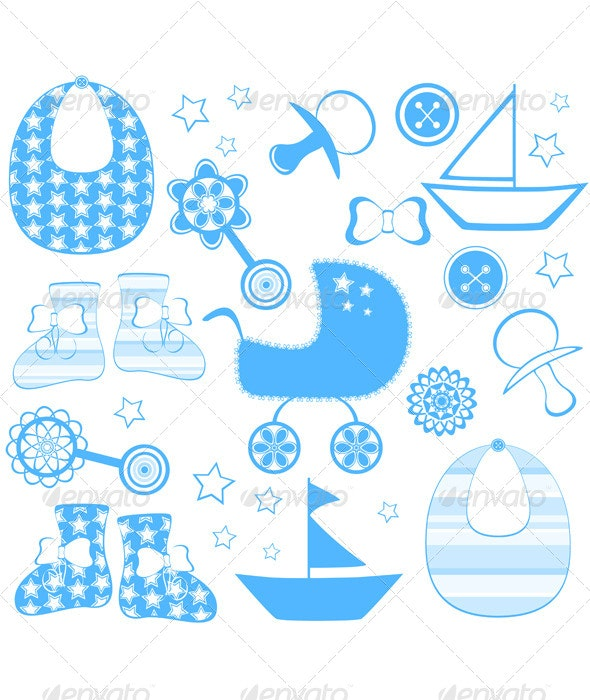 Newborn Boy Collection - Miscellaneous Characters