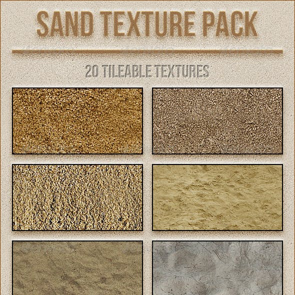Sand Texture Pack