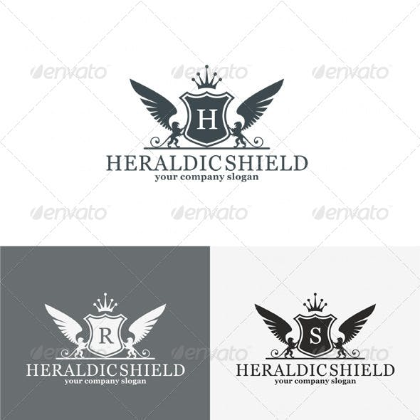 Heraldic Shield Logo