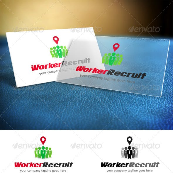 Worker Recruit Logo