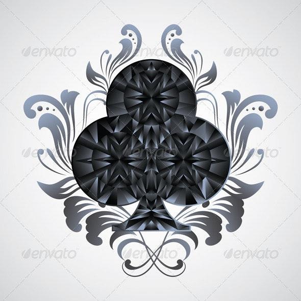 Ornament Clubs - Decorative Symbols Decorative