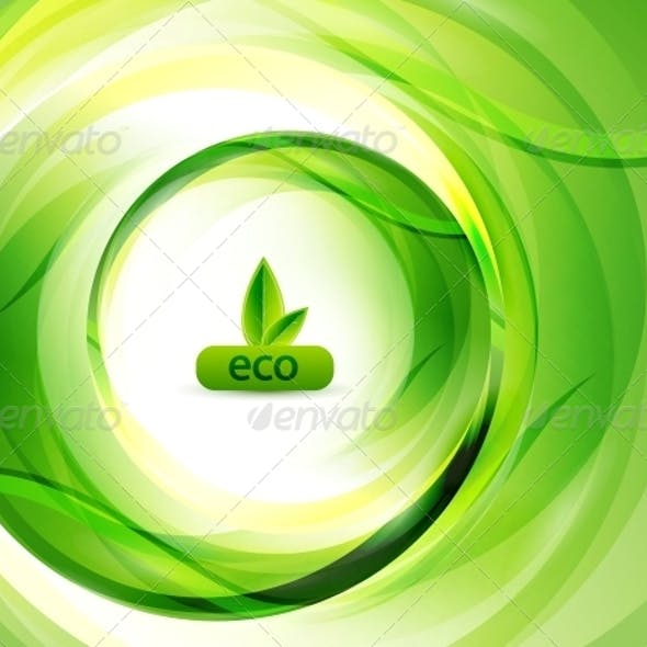 Green Eco Abstract Background