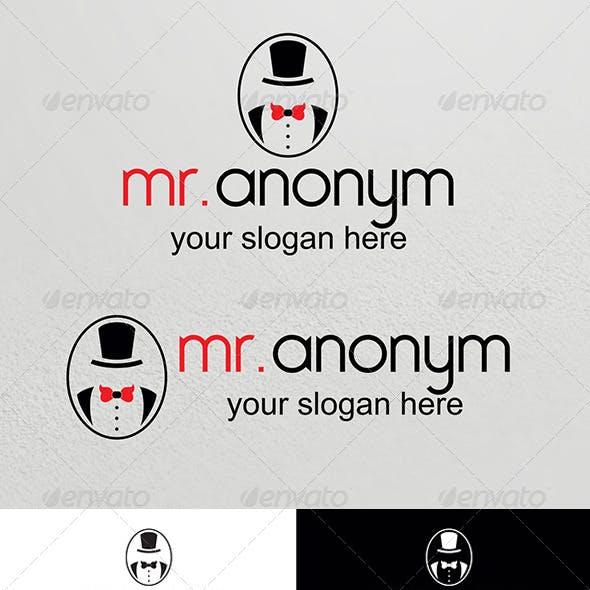 Anonym Logo Template