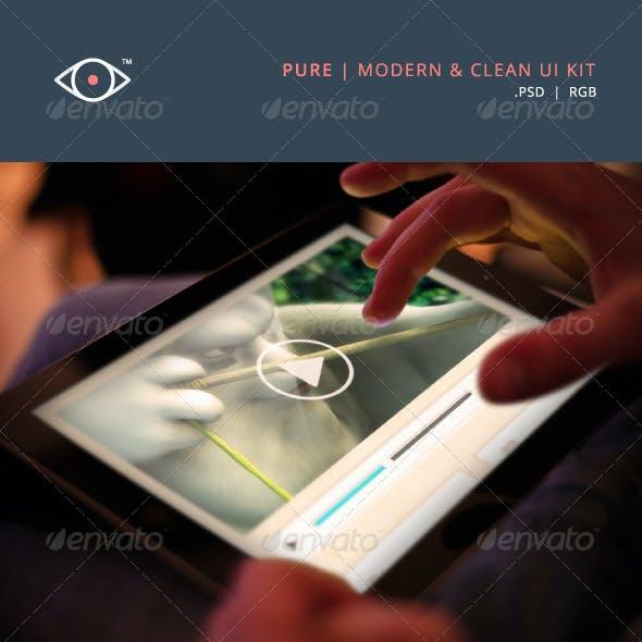 Pure - Modern & Clean UI Kit