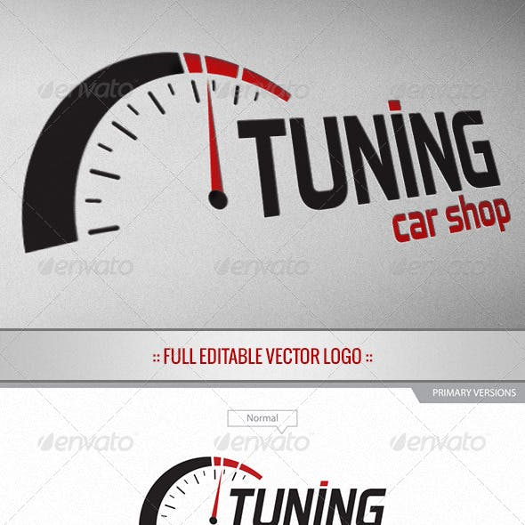 Tuning Car Shop - Logo