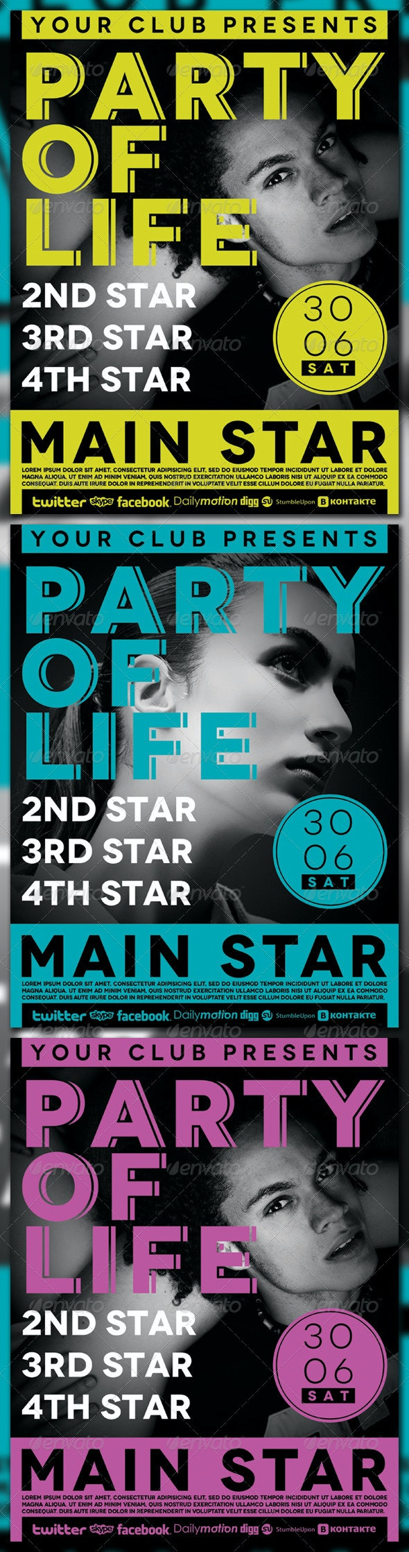 Party of Life - Clubs & Parties Events