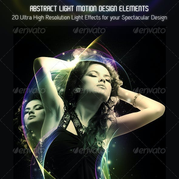 Abstract Motion Light Effects Pack 01