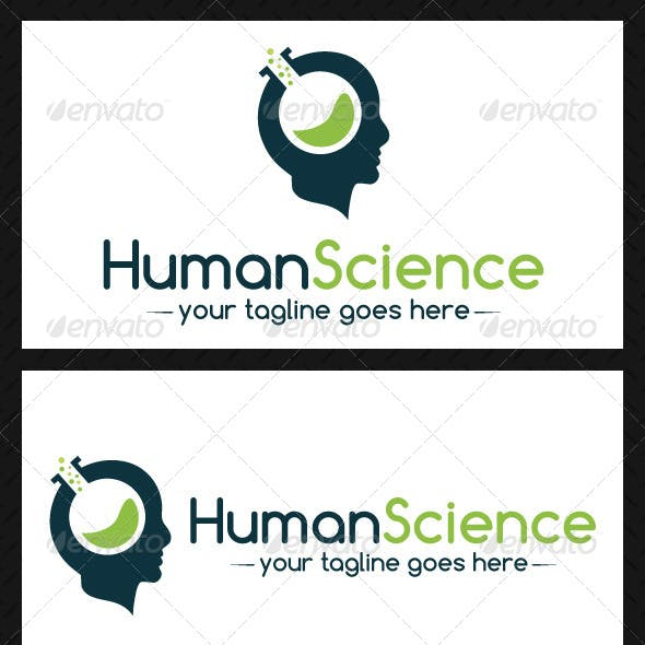 Human Science Logo Template