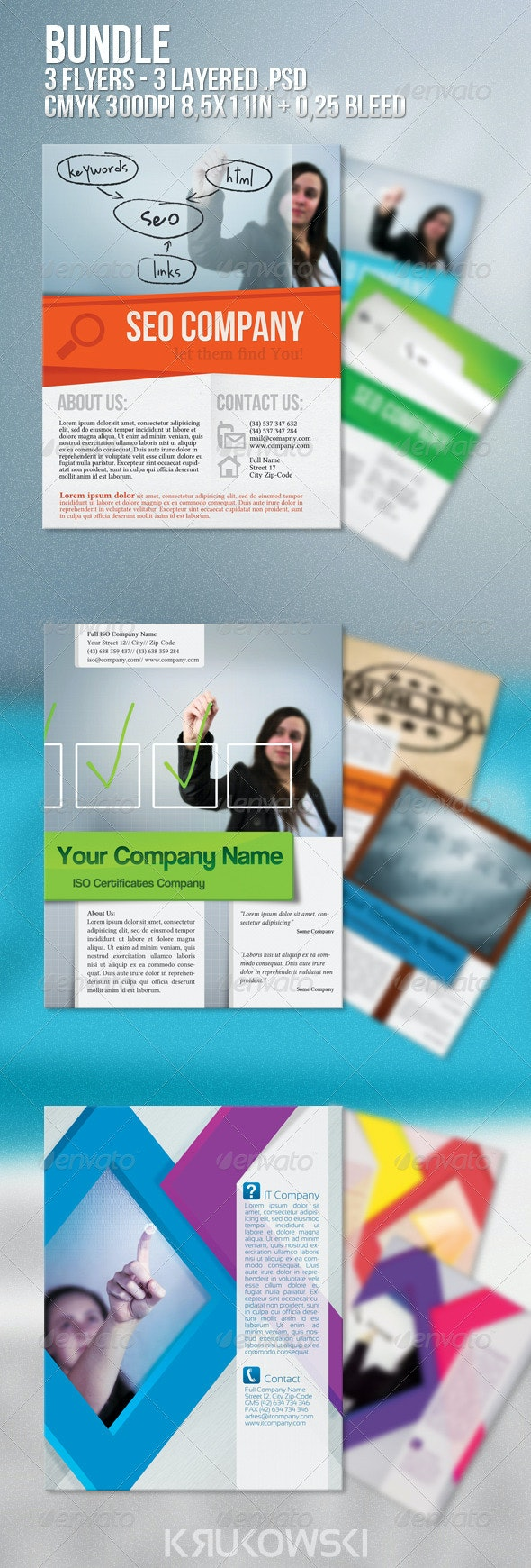 Corporate Flyers Bundle - Corporate Flyers