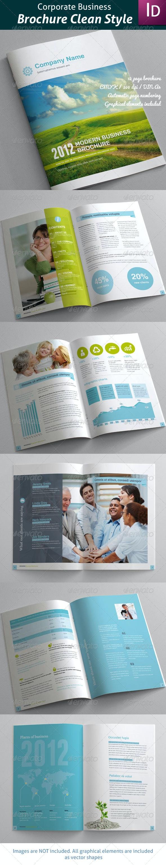 Business Brochure Clean Style - Corporate Brochures
