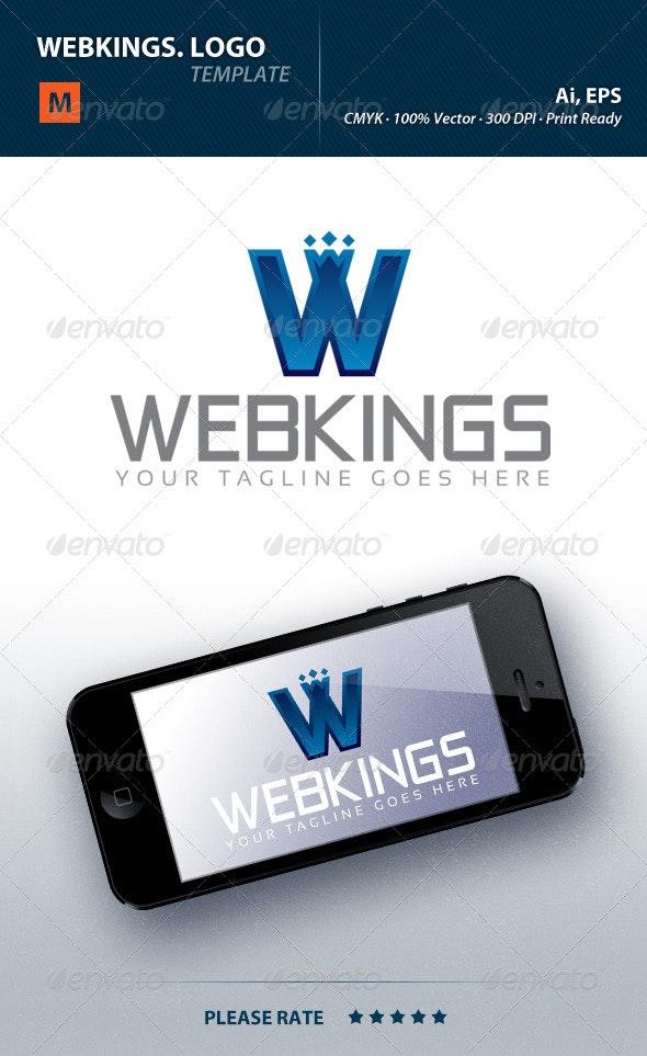 Webkings Logo - Letters Logo Templates