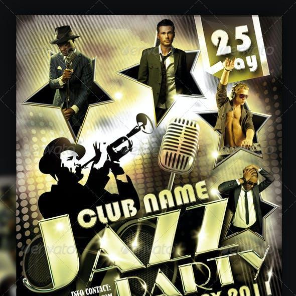Jazz Party Flyer