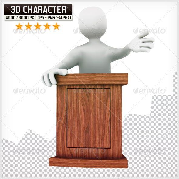 3D Puppet - Speech
