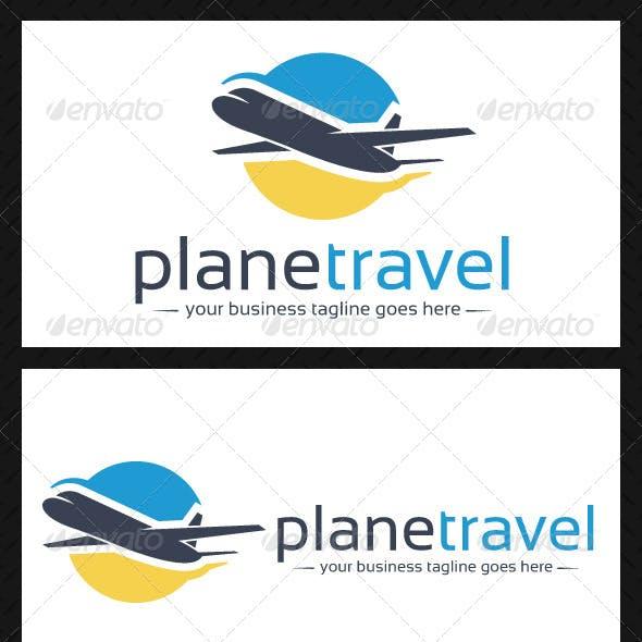 Plane Travel Logo Template