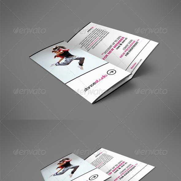 Street Art Brochure Tri-fold