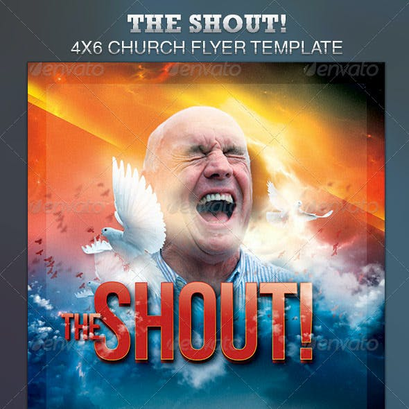 The Shout Church Event Flyer